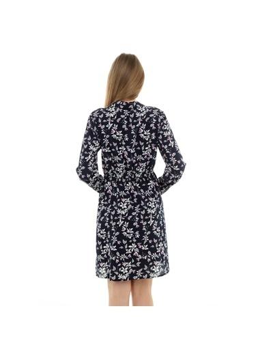 Vero Moda Elbise Lacivert